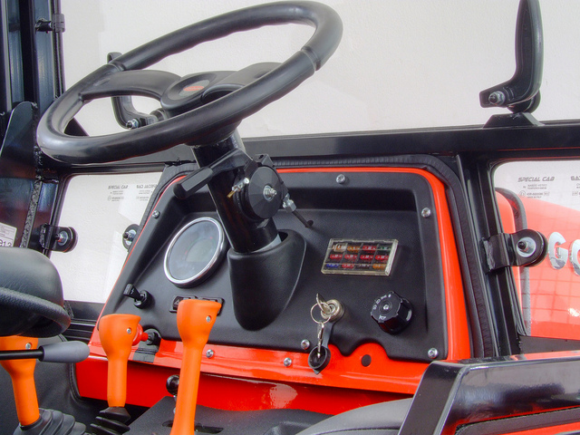 Wnętrze kabiny TRANSCAR